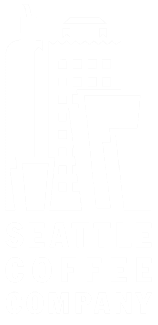 Seattle Coffee Company white logo