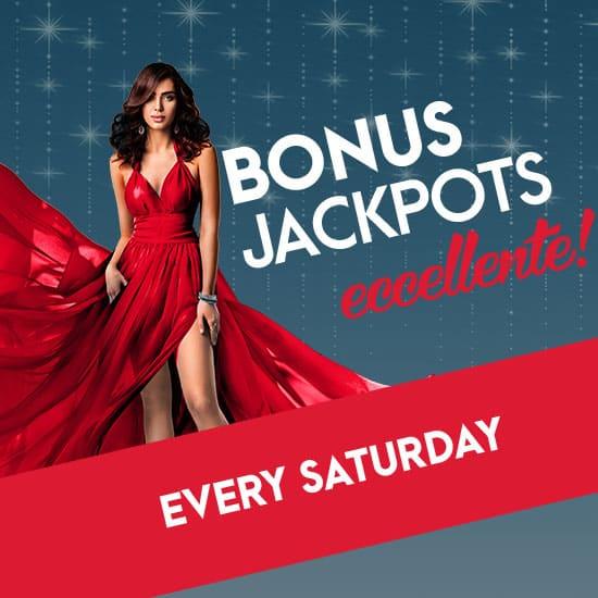 Saturday Bonus Jackpots slider image