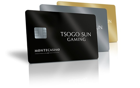 All the new Montecasino rewards cards