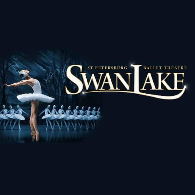 ST Petersburg Ballet Theatre Swan Lake square banner