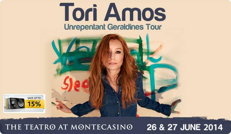 Tori Amos event at The Teatro, Montecasino