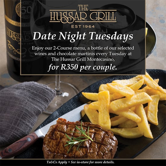 The Hussar Grill | Date Night Tuesdays