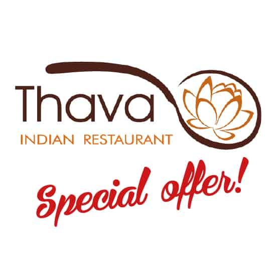 Thava Indian restaurant Special Offer logo