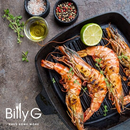 Billy G Buffet– Prawn Special
